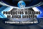 Productos Blancos de Xisco Sandron – Formularios Llamativos